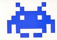 4 Space Invaders Stickers Autocollant Fenêtre Voiture Portable
