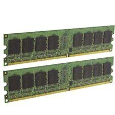 1GB PAIR OF HP QIMONDA 377725-888 HYS64T64000HU-3S-B 1Rx8 PC2-5300U-555-12-D0