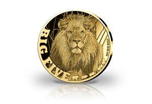 Münze 999er Feingold Afrikanischer Löwe 2020 Goldmünze