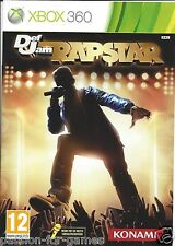 DEF JAM RAPSTAR for Xbox 360 - with box & manual - PAL
