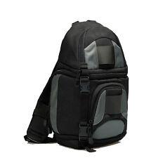 DSLR SLR Fotocamera Zaino Borsa Da Spalla Custodia+parapioggia Per Nikon Sony