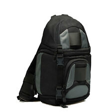 DSLR SLR Cámara Mochila Funda+protector para la lluvia Para Nikon Sony Canon