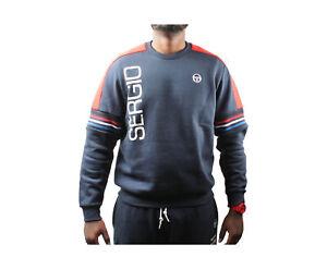 Sergio Tacchini Daniel Navy/White Men's Crew Sweatshirt STM038255-209A