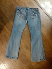 Ladies/Jr Girls Wallflower Jeans Size 15
