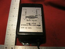 New listing Philmore Solid State Stereo Phono Pre Amplifier Pre600 117vac 60hz
