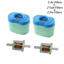 792105 Air Filter for Briggs & Stratton 691035 Fuel Filter with Pre Filter