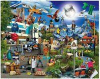 TV Show Visual Puns: 1000 Piece Jigsaw Puzzle (Puntastic Puzzles)