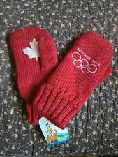 Vancouver 2010 Olympic Authentic Red Mittens - Hudson Bay Company Ltd.