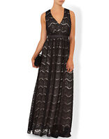 Monsoon Cloe Lace Maxi Wedding Party Occasion Dress