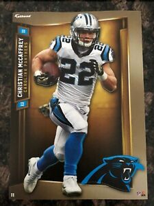 Christian McCaffrey Carolina Panthers Fathead Tradeables Decal STICKER 5X7 NFL