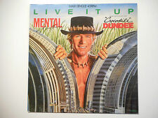 "MAXI 12"" ▒ CROCODILE DUNDEE / MENTAL IS ANYTHING : LIVE IT UP (EXT. REMIX 6.06)"