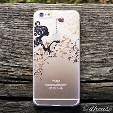 Japanese Hard Shell Clear Case Autumn Fairy for iPhone 6 Plus & iPhone 6s Plus