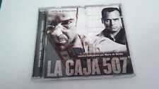 """ORIGINAL SOUNDTRACK """"LA CAJA 507"""" CD 28 TRACK MARIO DE BENITO  BSO OST"""