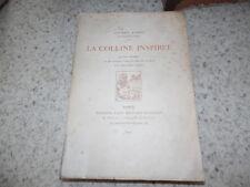1915.La colline inspirée.Maurice Barrès.Paul-Emile Colin