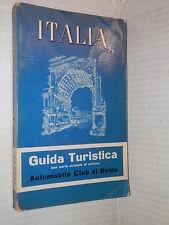 ITALIA Guida turistica con carta stradale al milione Conterio Bucciotti Valenti