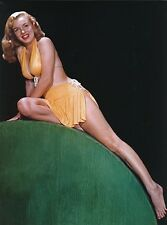 MARILYN MONROE 1948 SWiMSUIT BEAUTY ON WOOD   (1) RARE 5X7 GalleryQuality PHOTO