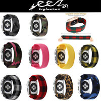 For Apple Watch iWatch Series 5/4/3/2/1 Scrunchie Soft Elastics Loop Band Strap