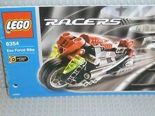 LEGO® Racers Bauanleitung 8354 Exo force Bike gelocht BA Anleitung