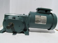 Reliance Electric P56H3884R Motor 1/2 HP, w/ Dodge Gear BOX Reducer