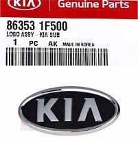Tailgate Trunk Emblem Kia Logo Mark Sorento Soul Sportage Genuine KIA Ornament
