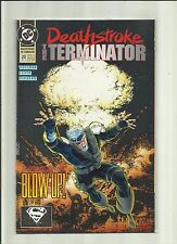 Deathstroke : The Terminator # 20 :  DC comics . 1993 .