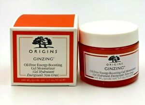 Origins GinZing Oil Free Energy Boosting Gel Moisturizer 1.7oz / 50ml New in box