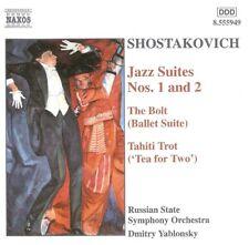 Shostakovich - Jazz Suites Nos. 1 And 2, The Bolt (CD 2002) Naxos 8.555949