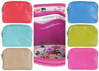 GOLUNSKI SOFT LEATHER WOMENS TOP ZIP COIN PURSE, DIFFERENT COLOURS 0-327