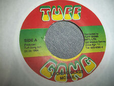 REGGAE 45 ON TUFF GONG MC NAIL .. LOOKING GLASS / VERSION EXCELLENT 1994 JAMAICA