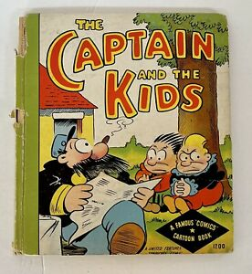 The Captain And The Kids A Famous Funnies Cartoon Book Whitman Publishing 1934