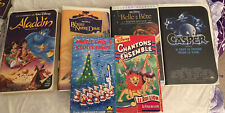 French Movies On VHS - 4 Disney movies, Casper, and Madeline's Christmas