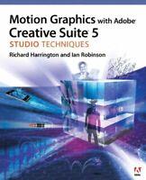 Motion Grafik Mit Adobe Kreative Suite 5 Studio Techniques Taschenbuch