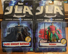JLA Lot of 5 Batman The Flash Zauriel Robin Action Figure DC Comics Kenner