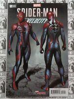Spider-Man Velocity (2019) Marvel - #1, 1:25 Adi Granov Variant, Hallum, VF