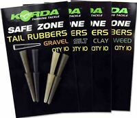 Korda Fishing Tail Rubbers - Sleeves for Lead Clips & Inline Leads, 10 Per Pack