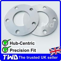 5MM HUB CENTRIC ALLOY WHEEL SPACERS FOR FORD 5X108 PCD 63.4 PAIR SHIMS [2JX]