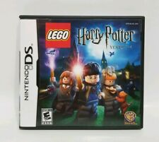 NINTENDO DS GAME -- LEGO: HARRY POTER YEARS 1-4 -- CASE, CARTRIDGE & BOOKLET