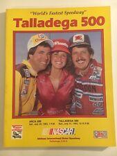 TALLADEGA 500 RACE PROGRAM  - JULY 31, 1983