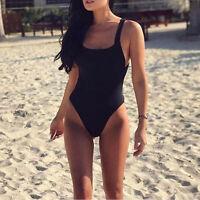 Women's One Piece Bandage Bikini Push Up Monokini Swimsuit  Swimwear Beachwear