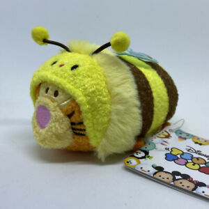 "Disney Store Tsum Stack Mini Plush 3.5"" JAPAN 2016 Honey Bee Tigger 💕 US SELLER"
