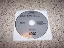 2005 Ford Excursion Truck Shop Service Repair Manual DVD 5.4L 6.8L 6.0L Diesel