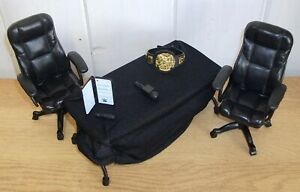 WWE - Contract Signing - accessories set inc breakable table & WWE Championship