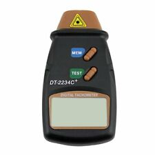 New Digital Laser Photo Tachometer Non Contact RPM Tach BE