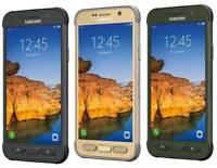 NEW Samsung Galaxy S7 Active G891A GSM Unlocked AT&T (9/10) 32 GB Camo/Gold/Gray