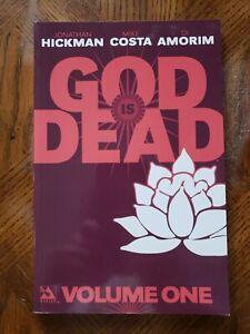 God Is Dead Trade Paperback Volume #1 Jonathan Hickman Di Amorim Avatar Press