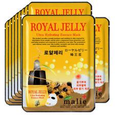 Royal Jelly  Face Mask Pack Sheet Moisture Essence Facial Ultra Skin Care 10pcs