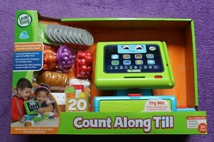 LEAPFROG COUNT ALONG TILL SUITABLE FOR CHILDREN AGED 2 YEARS & OVER