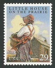 Little House on the Prairie Laura Ingalls Wilder Melissa Gilbert US Book Stamp !