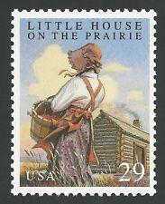 Little House on the Prairie Laura Ingalls Wilder Melissa Gilbert Book Stamp MINT