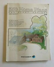 Vintage 1982 Home Planners Inc. 350 One Story Design Home Plans House Design